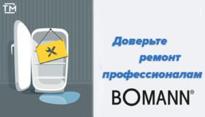 ремонт холодильников боманн спб
