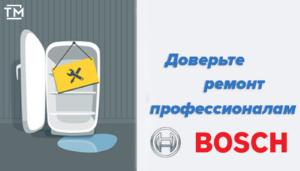 ремонт холодильников бош СПб