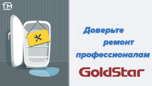 ремонт холодильников голдстар
