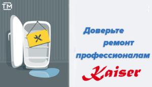 ремонт холодильников кайзер СПб