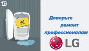 Ремонт холодильников LG Спб