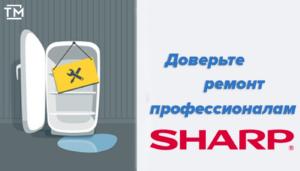 Ремонт холодильников sharp СПб