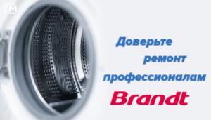Ремонт стиральных машин brant СПб