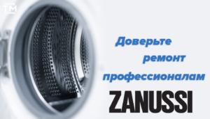 Ремонт стиральных машин Zanussi СПб